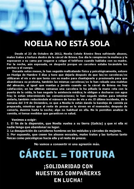 FAX Solidaridad Noelia