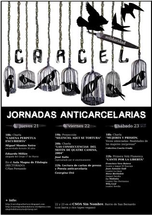 jornadas anticarcelarias